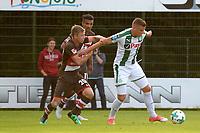 ROTINGHAUSEN - Voetbal, Sankt Pauli - FC Groningen, oefenduel, 01-09-2017, FC Groningen speler Samir Memisovic met Richard Neudecker