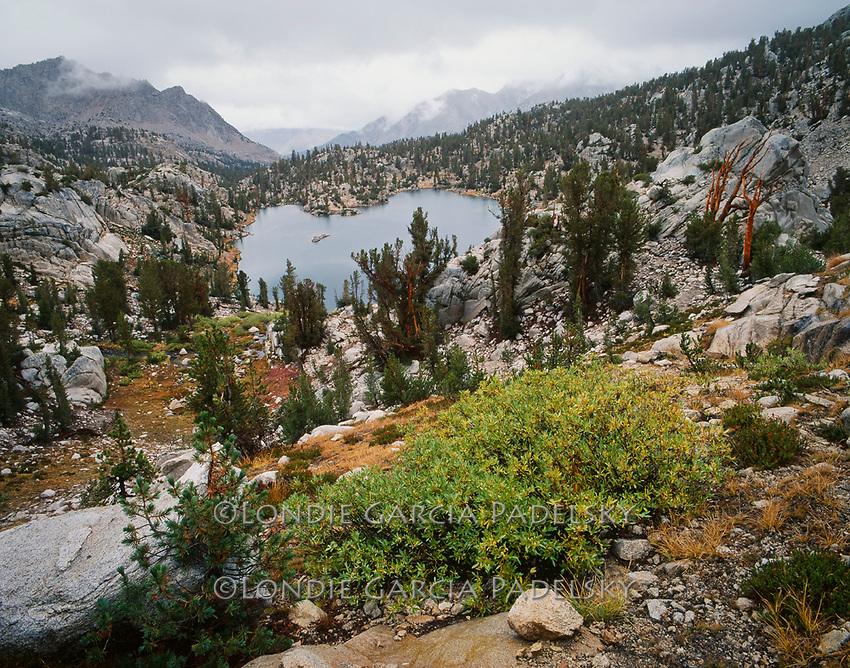 Summer storm over Sixty Lakes Basin, Kings Canyon National Park, California