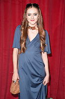 Persephone Swales-Dawson<br /> arrives for the British Soap Awards 2016 at Hackney Empire, London.<br /> <br /> <br /> &copy;Ash Knotek  D3124  28/05/2016