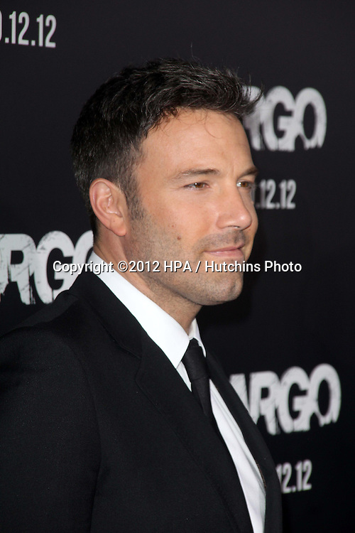 """LOS ANGELES - OCT 4:  Ben Affleck arrives at the """"ARGO"""" Premiere at Samuel Goldwyn Theater on October 4, 2012 in Beverly Hills, CA"""