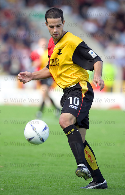 Leigh Hinds, Partick Thistle.stock season 2004-2005.pic willie vass