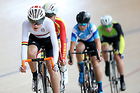 Jack Carswell of Waikato BOP competes in the U15 Boys Points race  at the Age Group Track National Championships, Avantidrome, Home of Cycling, Cambridge, New Zealand, Thurssday, March 16, 2017. Mandatory Credit: © Dianne Manson/CyclingNZ  **NO ARCHIVING**