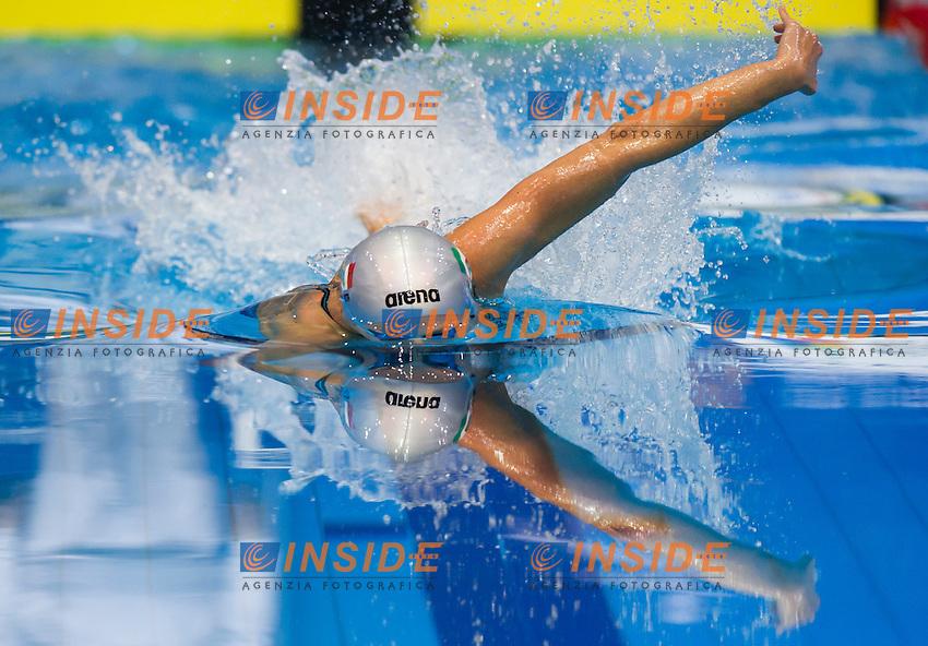 PELLEGRINI Federica ITA gold medal<br />Women's 200m freestyle final<br />Netanya, Israel, Wingate Institute<br />LEN European Short Course Swimming Championships <br />Dec. 2 - 6, 2015 Day 04 Dec.05<br />Nuoto Campionati Europei di nuoto in vasca corta<br />Photo Giorgio Perottino/Deepbluemedia/Insidefoto