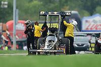 31 August - 3 September, 2012, Indianapolis, Indiana USA, Khalid Albalooshi, Al-Anabi Racing, top fuel dragster @2012, Mark J. Rebilas