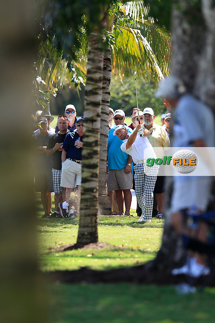 Graeme McDowell (NIR) during the 2nd round at the WGC Cadillac Championship, Blue Monster, Trump National Doral, Doral, Florida, USA<br /> Picture: Fran Caffrey / Golffile
