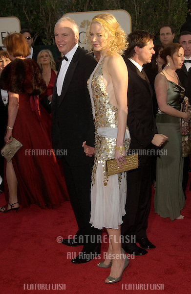 NICOLE KIDMAN at the 61st Annual Golden Globe Awards at the Beverly Hilton Hotel, Beverly Hills, CA..January 25, 2004