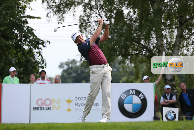 Retief Goosen (RSA) plays from the 16th tee during Round Three of the 2015 BMW International Open at Golfclub Munchen Eichenried, Eichenried, Munich, Germany. 27/06/2015. Picture David Lloyd | www.golffile.ie