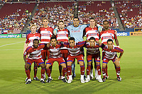 FC Dallas Starting Eleven Columbis Crew VS FC Dallas at Pizza Hut Park Frisco, Texas August-30-2008 Final Score 2-1