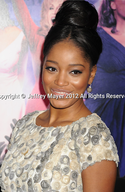 HOLLYWOOD, CA - JANUARY 09: Keke Palmer attends the 'Joyful Noise' Los Angeles Premiere at Grauman's Chinese Theatre on January 9, 2012 in Hollywood, California.