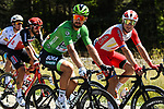 The peloton including Green Jersey Peter Sagan (SVK) Bora-Hansgrohe and Elia Viviani (ITA) Cofidis relax during Stage 5 of Tour de France 2020, running 183km from Gap to Privas, France. 2nd September 2020.<br /> Picture: ASO/Alex Broadway | Cyclefile<br /> All photos usage must carry mandatory copyright credit (© Cyclefile | ASO/Alex Broadway)