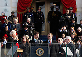 Washington, DC - January 20, 2009 -- The Inauguration of President Barack Obama on Tuesday, January 20, 2009, at the United States Capitol in Washington, DC. .Credit: Scott Andrews - Pool via CNP