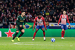 AS Monaco's Radamel Falcao during UEFA Champions League match between Atletico de Madrid and AS Monaco at Wanda Metropolitano Stadium in Madrid, Spain. November 28, 2018. (ALTERPHOTOS/A. Perez Meca)