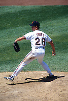 SAN FRANCISCO, CA - Bill Swift of the San Francisco Giants in action during a game at Candlestick Park in San Francisco, California in 1993. Photo by Brad Mangin