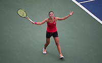 ANASTASIJA SEVASTOVA (LAT)<br /> <br /> TENNIS - THE US OPEN - FLUSHING MEADOWS - NEW YORK - ATP - WTA - ITF - GRAND SLAM - OPEN - NEW YORK - USA - 2016  <br /> <br /> <br /> <br /> &copy; TENNIS PHOTO NETWORK