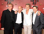 "WESTWOOD, CA. - June 07: William Zabka, Tony O'Dell, Martin Kove, Ron Thomas arrive at ""The Karate Kid"" Los Angeles Premiere at Mann Village Theatre on June 7, 2010 in Westwood, California."