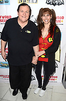 LOS ANGELES - JAN 10:  Burt Ward, Tracy Posner at the Batman '66 Retrospective and Batman Exhibit Opening Night at the Hollywood Museum on January 10, 2018 in Los Angeles, CA<br /> <br /> Batman '66 Retrospective and Batman Exhibit Opening Night, The World Famous Hollywood Museum, Hollywood, CA 01-10-18