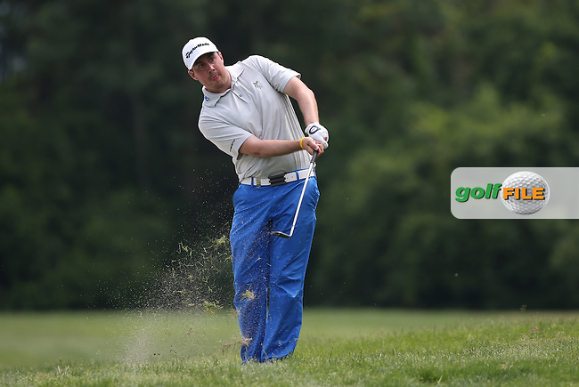 Ryan Evans (ENG) in action on the 16th during Round Three of the 2015 Lyoness Open powered by Greenfinity at the Diamond Country Club, Atzenbrugg, Vienna, Austria. 13/06/2015. Picture: Golffile | David Lloyd<br /> <br /> All photos usage must carry mandatory copyright credit (&copy; Golffile | David Lloyd)