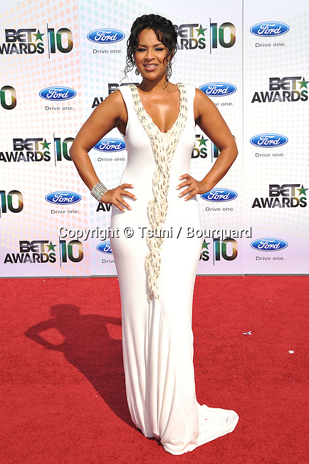 LisaRaye McCoy-Misick _105   -<br /> 10th Ann BET Awards 2010 at the Shrine Auditorium In Los Angeles.