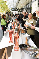 Wines of Provence on display at a tasting event.
