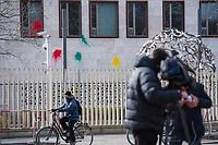 2018/02/27 Berlin | Farbbeutel gegen tuerkische Botschaft