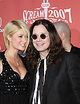Paris Hilton and Ozzy Osbourne at Spike TV's 'Scream 2007' held at The Greek Theatre on October 19, 2007 in Los Angeles, California