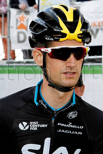 28.07.2015. Roeselare, Belgium. Criterium Roeselare Natour. The city of Roeselare hosts a delegate field with the  main riders of the Tour de France 2015. POELS WOUTER