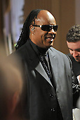 """Washington, D.C. - February 25, 2009 -- Stevie Wonder arrives at the tribute to him hosted by United States President Barack Obama and first lady Michelle Obama for the PBS broadcast of """"Stevie Wonder In Performance at the White House: The Library of Congress Gershwin Prize"""" to showcase an evening of celebration at the White House in honor of musician Stevie Wonder's receipt of the Library of Congress Gershwin Prize for Popular Song in the East Room of the White House in Washington, D.C. on Wednesday, February 25, 2009..Credit: Ron Sachs / Pool via CNP"""