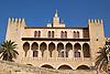 facade of the royal Almudaina Palace<br /> <br /> fachada del Palacio Almudaina<br /> <br /> Fassade des Almudaina-Palasts<br /> <br /> 3008 x 200 px<br /> 150 dpi: 50,94 x 33,87 cm<br /> 300 dpi: 25,47 x 16,93 cm