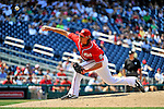 10 July 2011: Washington Nationals All-Star pitcher Tyler Clippard on the mound during a game against the Colorado Rockies at Nationals Park in Washington, District of Columbia. The Nationals shut out the visiting Rockies 2-0 salvaging the last game their 3-game series at home prior to the All-Star break. Mandatory Credit: Ed Wolfstein Photo