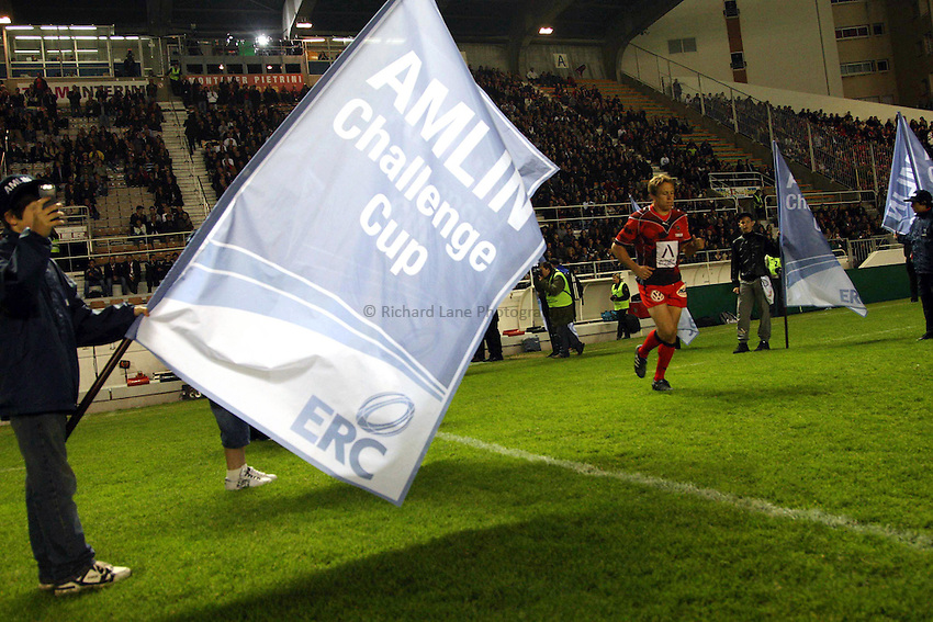 Photo: Iconsport/Richard Lane Photography. Toulon v Scarlets. Amlin Challenge Cup Quarter Final. 11/04/2010. .Amlin Challenge Cup flag.