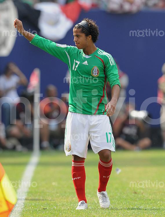 Fussball International Gold Cup Finale 2009    26.07.2009 USA - Mexiko Giovani Dos Santos (MEX)