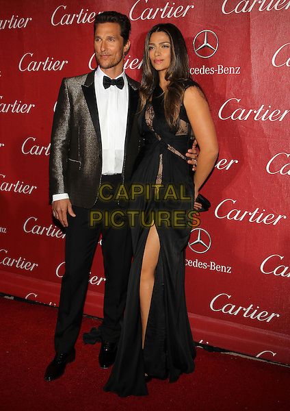 4 Januray 2014 - Palm Springs, California - Camila Alves, Matthew McConaughey. 25th Annual Palm Springs International Film Festival held at the Palm Springs Convention Ceter.<br /> CAP/ADM/KB<br /> &copy;Kevan Brooks/AdMedia/Capital Pictures