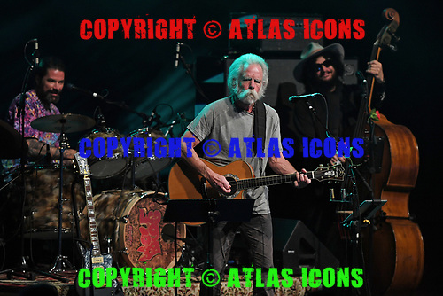 MIAMI BEACH, FL - MARCH 26: Jay Lane, Bob Weir and Don Was of Wolf Bros perform at the Fillmore on March 26, 2019 in Miami Beach, Florida. Credit Larry Marano © 2019