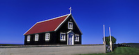Svalbards church Thistilfjordur, North Iceland. Images taken with Hasselblad Xpan camera and Fuji Velvia film.