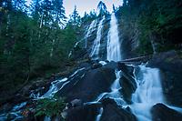 Bridal Veil Falls, Mt. Baker Snoqualmie National Forest, Washington, US