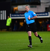 Referee Carl Boyeson<br /> <br /> Photographer Andrew Vaughan/CameraSport<br /> <br /> The EFL Sky Bet League Two - Cambridge United v Lincoln City - Saturday 29th December 2018  - Abbey Stadium - Cambridge<br /> <br /> World Copyright © 2018 CameraSport. All rights reserved. 43 Linden Ave. Countesthorpe. Leicester. England. LE8 5PG - Tel: +44 (0) 116 277 4147 - admin@camerasport.com - www.camerasport.com