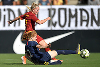 Amalie Thestrup of AS Roma  , Celina Ould Hocine PSG  <br /> Roma 8/9/2019 Stadio Tre Fontane <br /> Luisa Petrucci Trophy 2019<br /> AS Roma - Paris Saint Germain<br /> Photo Andrea Staccioli / Insidefoto