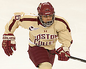 Kaliya Johnson (BC - 6) - The Boston College Eagles defeated the visiting Harvard University Crimson 3-1 in their NCAA quarterfinal matchup on Saturday, March 16, 2013, at Kelley Rink in Conte Forum in Chestnut Hill, Massachusetts.