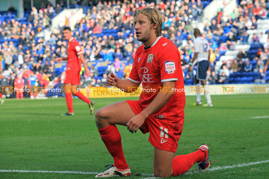 Alan Smith of MK Dons - Preston North End vs MK Dons - NPower League One Football at Deepdale, Preston, Lancashire - 14/10/12 - MANDATORY CREDIT: Paul Dennis/TGSPHOTO - Self billing applies where appropriate - 0845 094 6026 - contact@tgsphoto.co.uk - NO UNPAID USE.