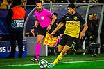 05.11.2019, Signal Iduna Park, Dortmund , GER, Champions League, Gruppenphase, Borussia Dortmund vs Inter Mailand, UEFA REGULATIONS PROHIBIT ANY USE OF PHOTOGRAPHS AS IMAGE SEQUENCES AND/OR QUASI-VIDEO<br /> <br /> im Bild | picture shows:<br /> Einzelaktion Achraf Hakimi (Borussia Dortmund #5), <br /> <br /> Foto © nordphoto / Rauch