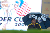 Ryder Cup K Club Straffin Co Kildare..European Ryder Cup Team captain Ian Woosnam during the morning fourball session of the second day of the 2006 Ryder Cup at the K Club in Straffan, County Kildare, in the Republic of Ireland, 23 September, 2006..Photo: Barry Cronin/ Newsfile.