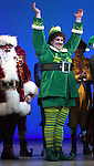 Wayne Knight & Jordan Gelber during the First Performance Curtain Call of the Broadway Holiday Hit Musical 'Elf'  at the Al Hirschfeld  Theatre in New York City on 11/09/2012