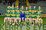 LEAGUE: The Kerry hurling team who palyed Antrim in the Allianz Hurling league at Austin Stack Park on Sunday..