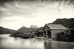 Boat House, Cradle Mountain and Dove Lake, Tasmania