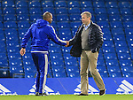Chelsea's Roman Abramovich shakes hands with Eddie Newton<br /> <br /> Barclays Premier League- Chelsea vs Sunderland - Stamford Bridge - England - 19th December 2015 - Picture David Klein/Sportimage