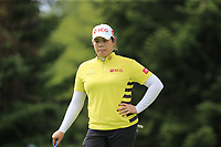 Ariya Jutanugarn (THA) on the 8th green during Thursday's Round 1 of The Evian Championship 2018, held at the Evian Resort Golf Club, Evian-les-Bains, France. 13th September 2018.<br /> Picture: Eoin Clarke | Golffile<br /> <br /> <br /> All photos usage must carry mandatory copyright credit (© Golffile | Eoin Clarke)