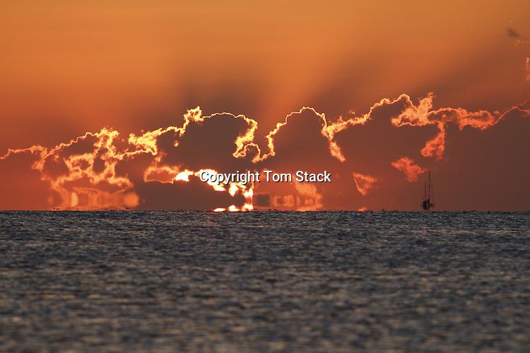 Sunset off Islamorada, Florida Keys