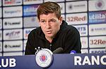 08.08.18 Rangers Europa League presser :Steven Gerrard