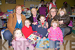 Enjoying the fun day at the marian hall Moyvane on Sunday were Theresa Kennelly, Bridgette Hogan, Paula Falvey, Dearbhile  and Ciara Kennelly, Conor Hogan, and Ruby Falvey.  (Gabriel Falvey).   Copyright Kerry's Eye 2008