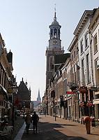 De Nieuwe Toren in het centrum van Kampen